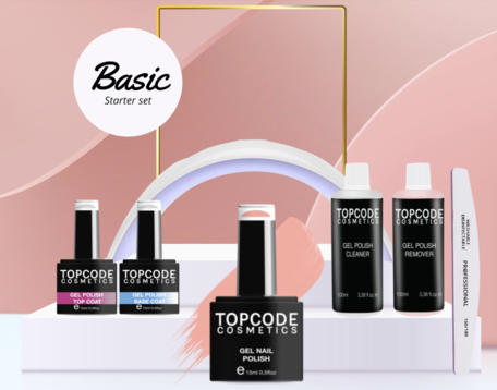 Basic Starter Set - Gellak #MCBS03 - incl. 1 nude kleur