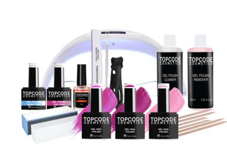 Premium Starter Set - Gellak #MCPS02 - incl. 3 roze kleuren