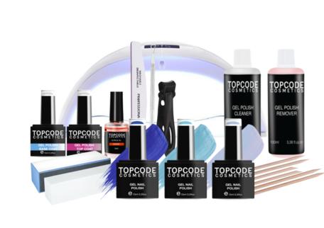 Premium Starter Set - Gellak #MCPS03 - incl. 3 blauwe kleuren